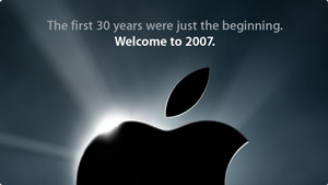 New Year Greeting from Apple